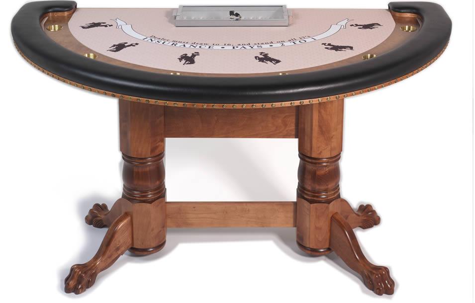 Table Tops Blackjack Tables Custom Poker Tables Georgia