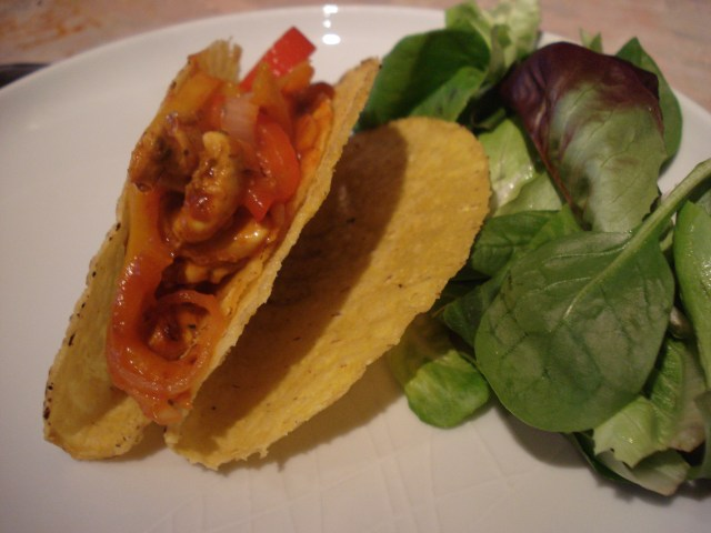 karo chicken tacos