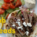 grilled lamb with cumin flabreads
