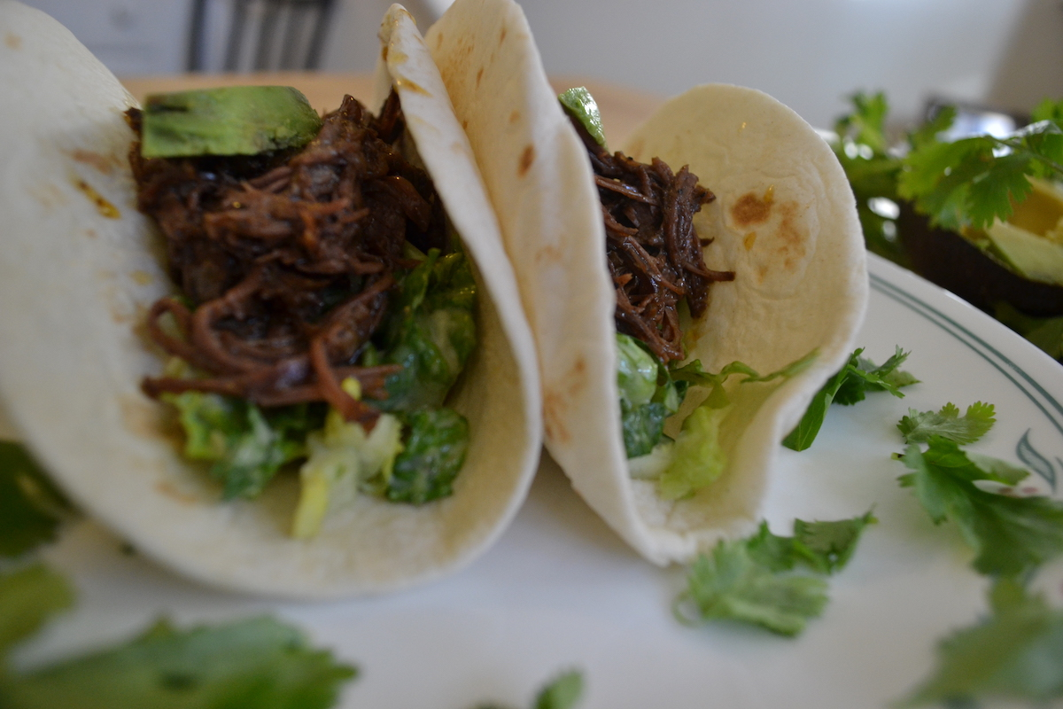 Shredded Short Rib Tacos