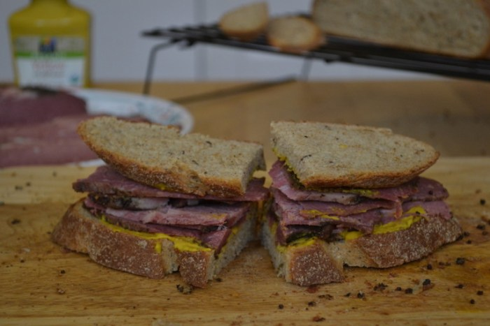 Try your hand at making Pastrami from scratch. Full recipe on BigTasteTinySpace.com