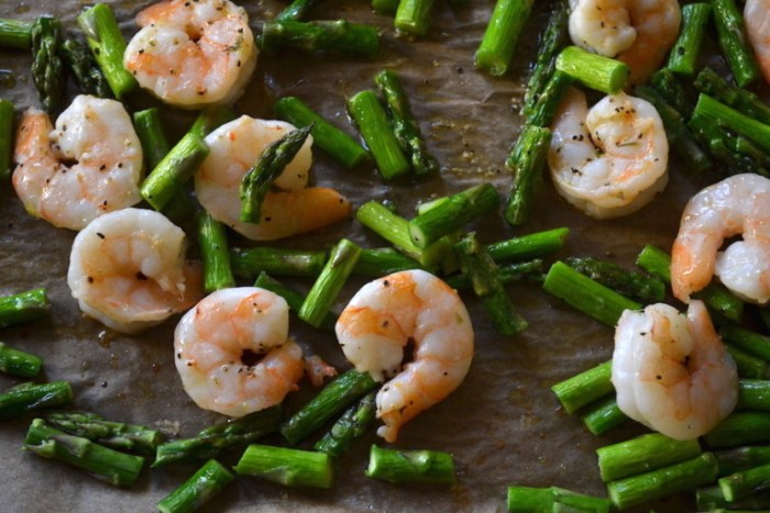 Some Roasted Shrimp and Asparagus are tossed together in my Spring Shells with Ricotta. Full recipe on BigTasteTinySpace.com copy