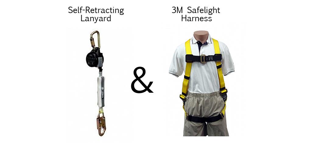 safety harness kit home depot