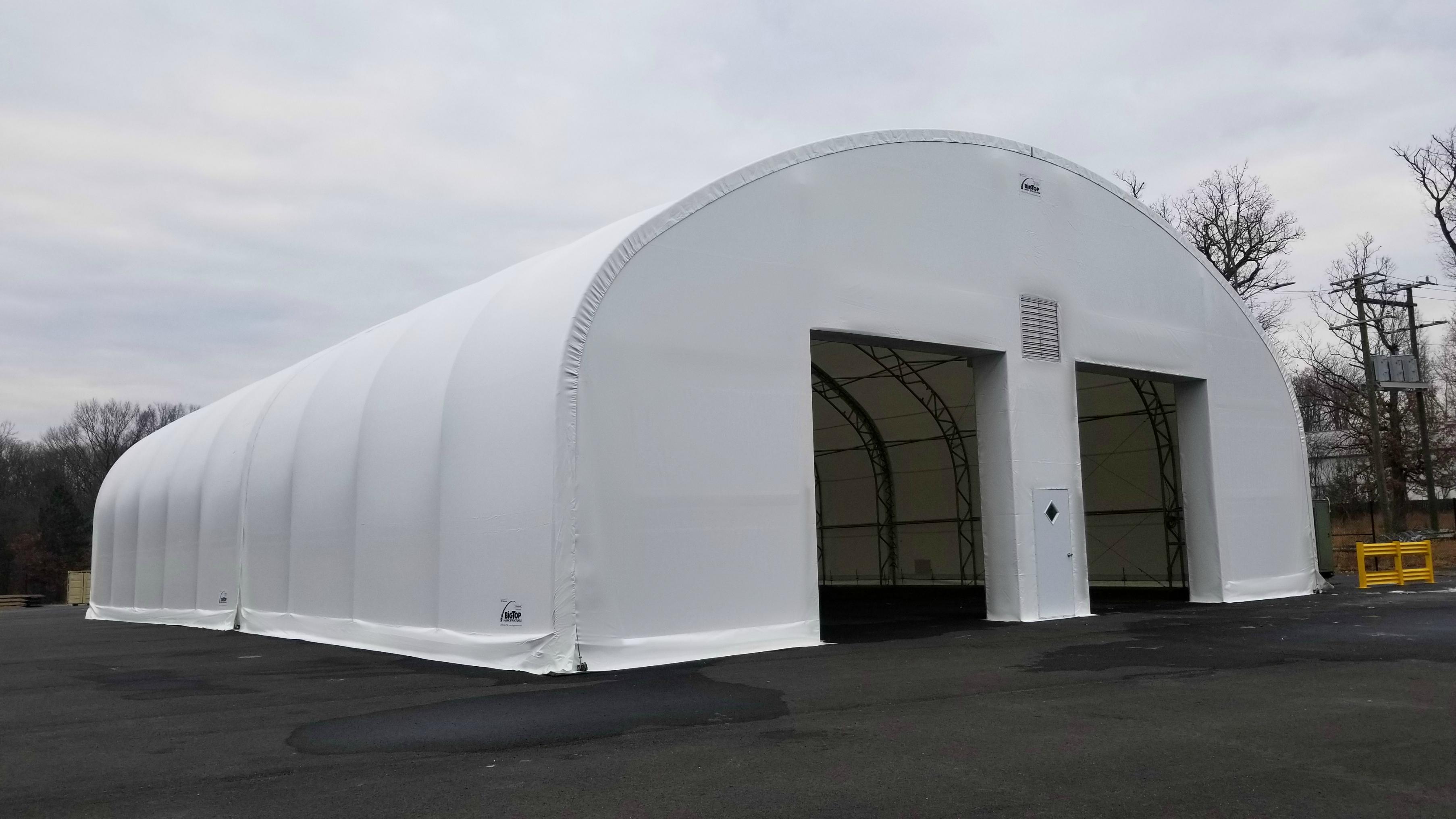 Large Area Maintenance Shelters Lams Big Top