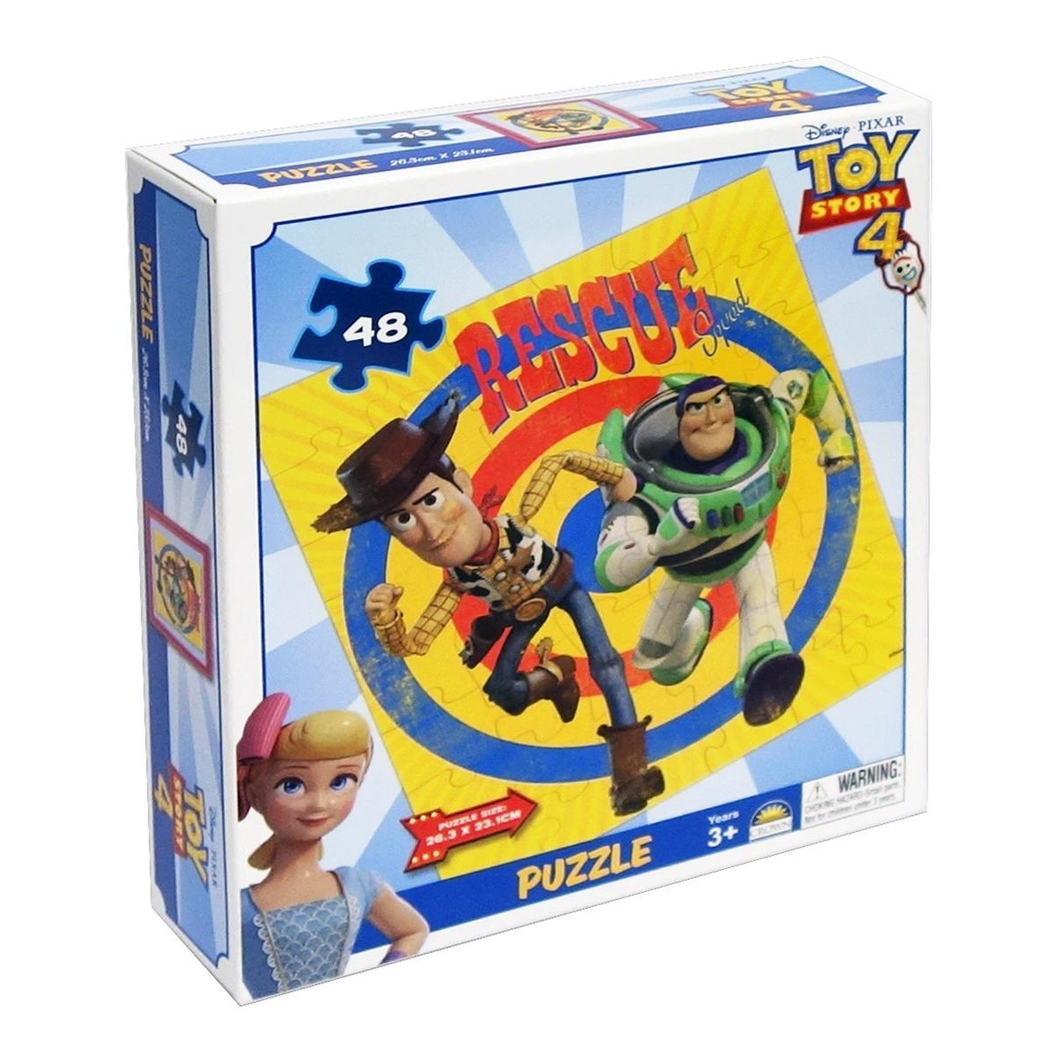 Hula Hoop Big W Toy Story 4 Boxed Puzzle 48 Pieces