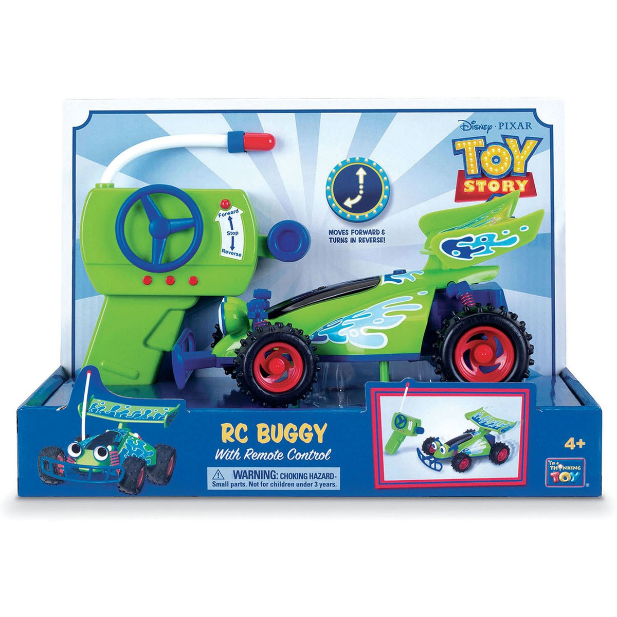 Toy Buggy With Car Seat Toy Story 4 Rc Buggy With Remote Control 25cm