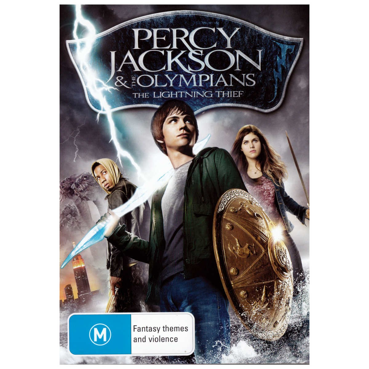Big W Lighting Percy Jackson And The Olympians The Lightning Thief Dvd