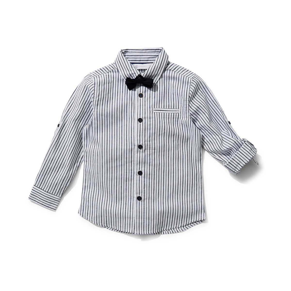 Big W Bow Tie B Collection Boys Bow Tie Shirt Navy Big W