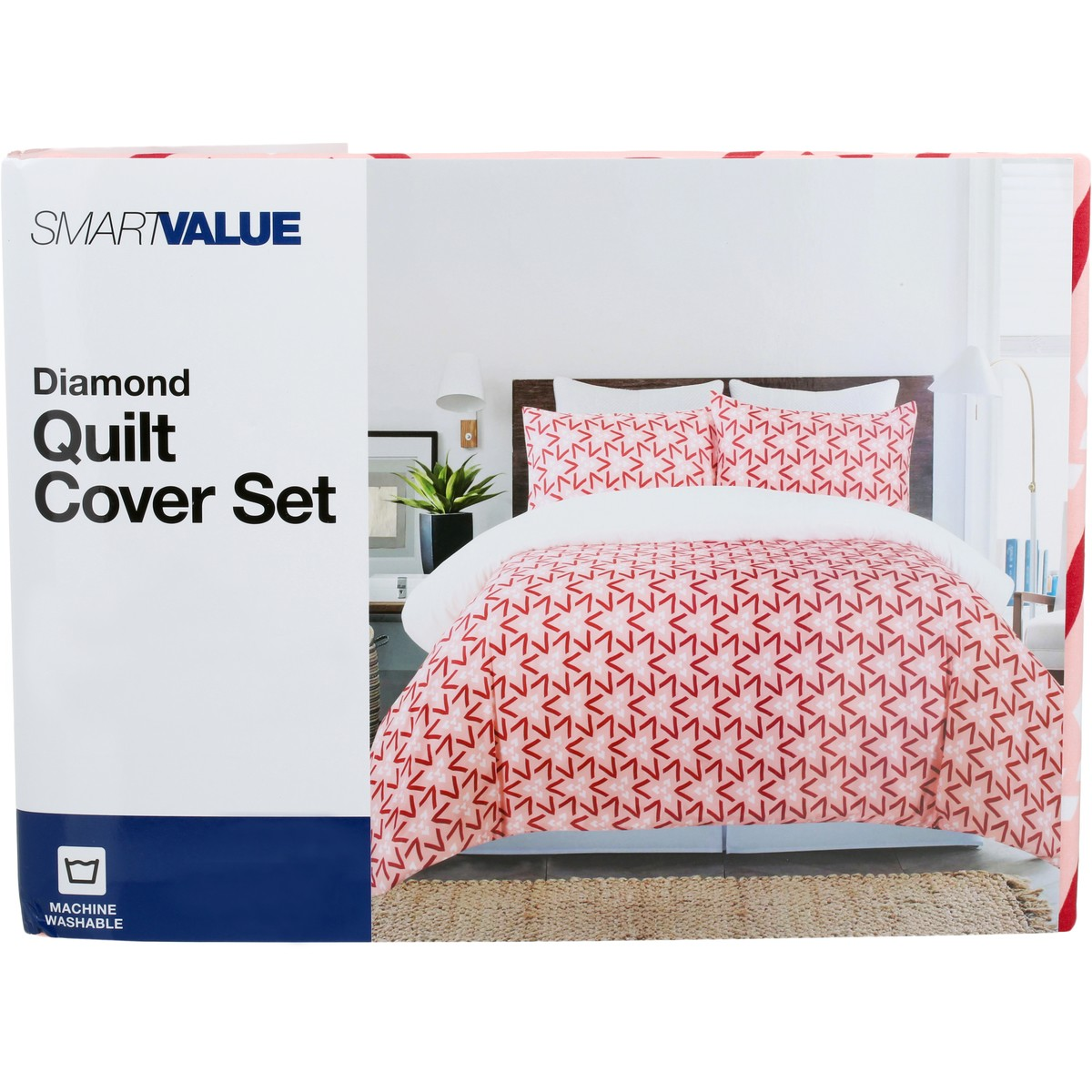 Big W Queen Quilt Covers Smart Value Quilt Cover Set Diamond Print Big W