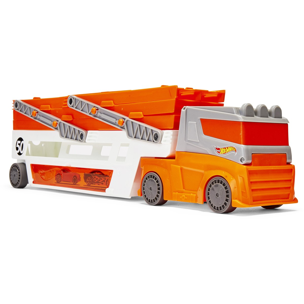 Big W Toy Cars Hot Wheels Mega Hauler Truck Big W