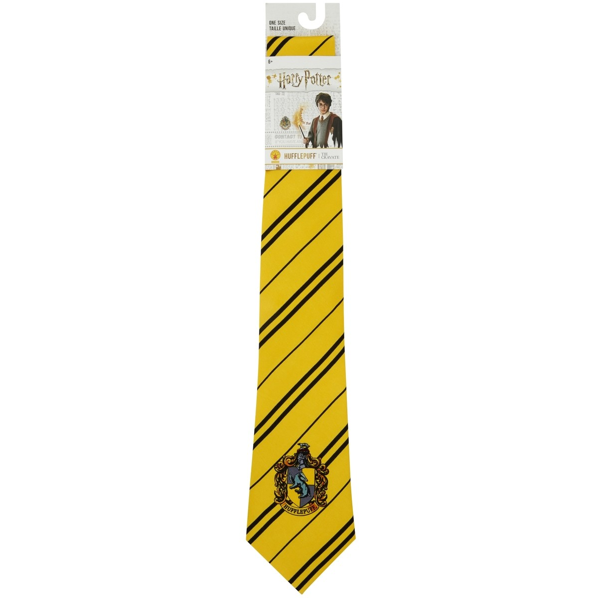 Big W Bow Tie H Potter Hufflepuff Tie Yellow Big W