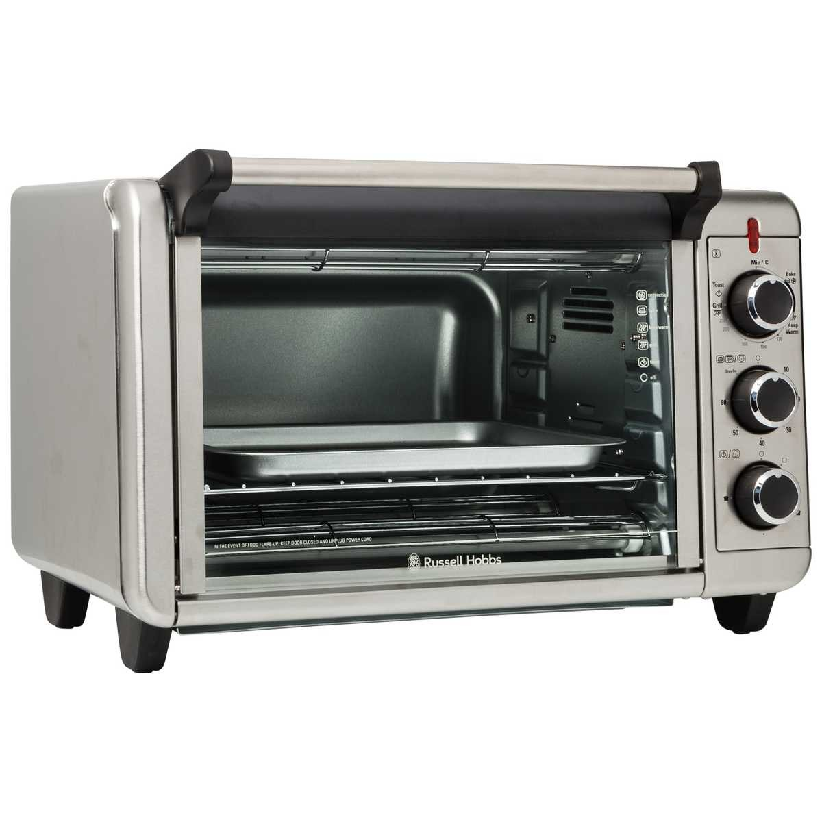 Convention Oven Russell Hobbs Family Convection Toaster Oven Rhtov20 Big W