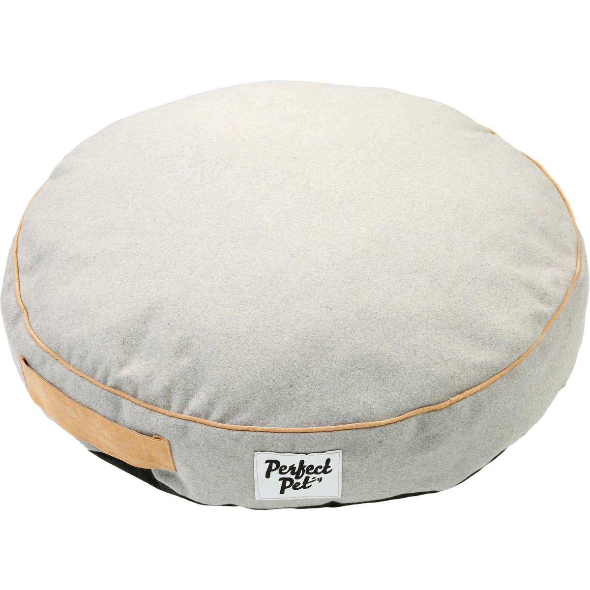 Big W Bed Perfect Pet Large Round Pillow Pet Bed Grey Big W