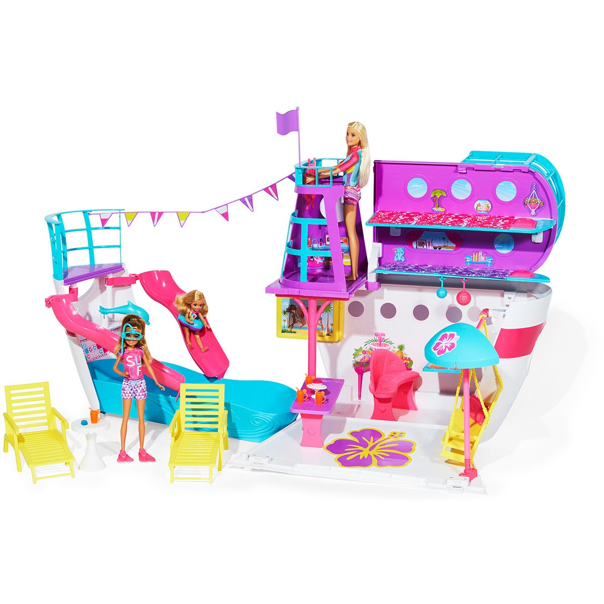 Barbie Toys Australia Barbie And Chelsea Ocean View Boat Playset Big W