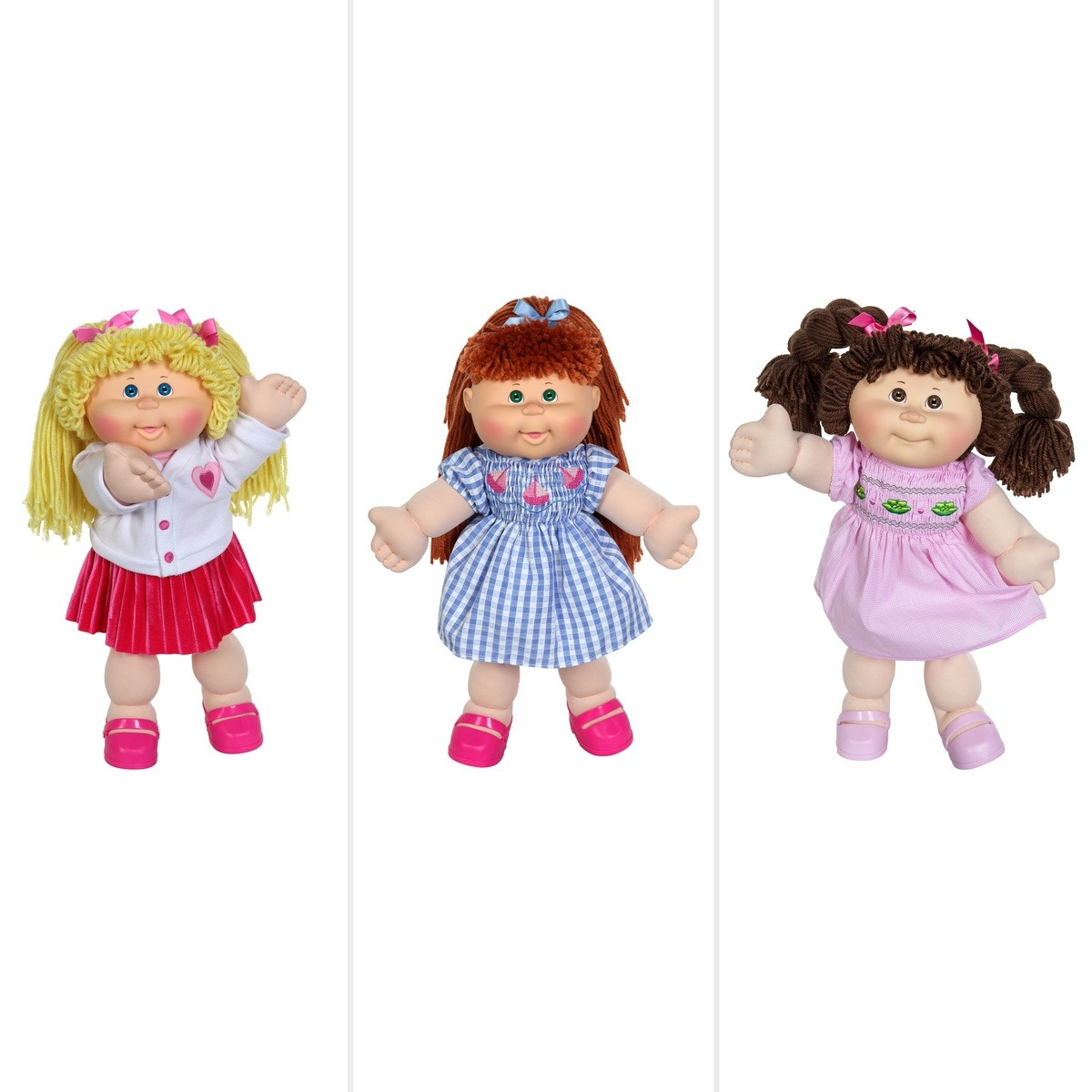Baby Car Seat Belt Covers Cabbage Patch Kids 35th Anniversary 14 Doll Assorted