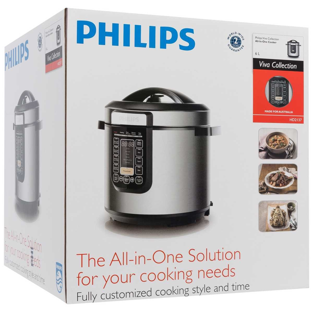 Big W Pressure Cooker Philips Viva Collection All In One Cooker Hd2137