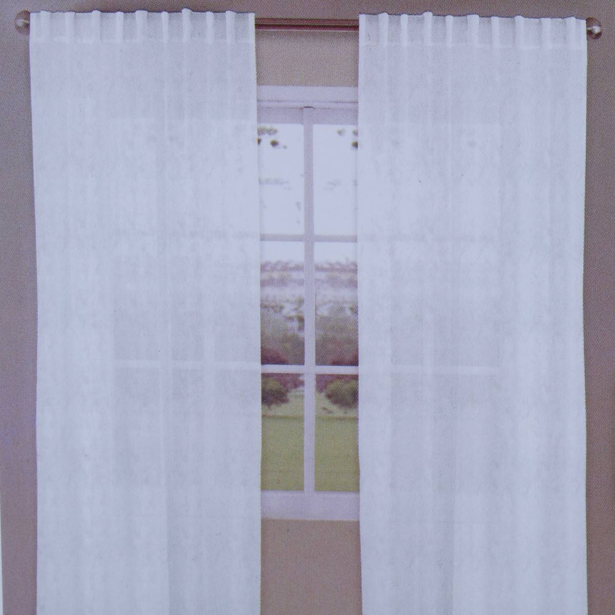 Sheer Curtains Australia House Home Voile Sheer Curtain White