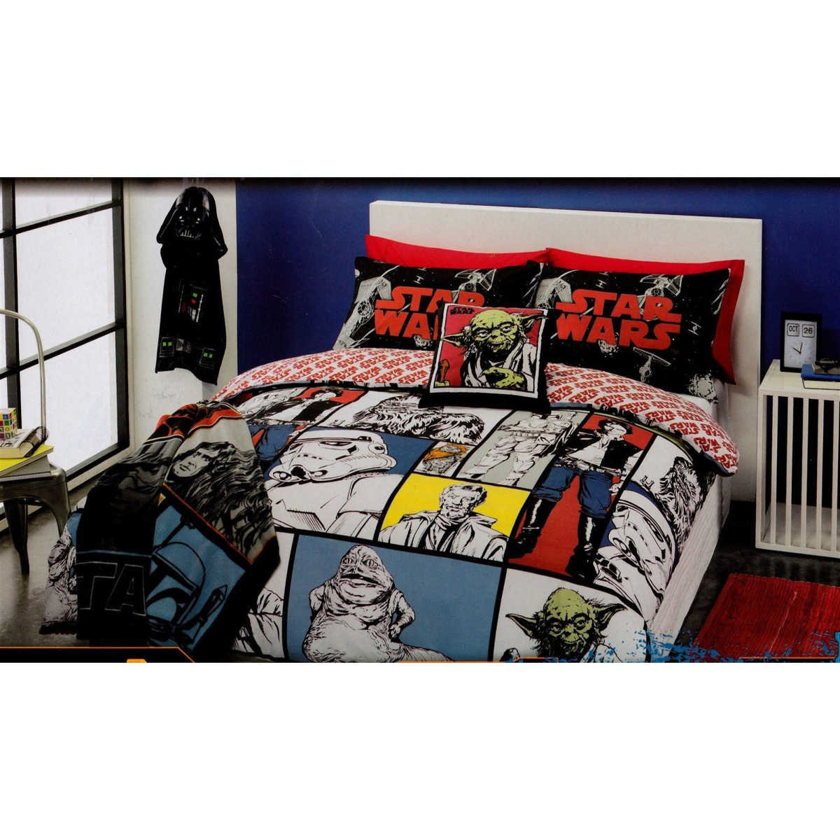 Single Doona Cover Star Wars Single Quilt Cover Set Big W