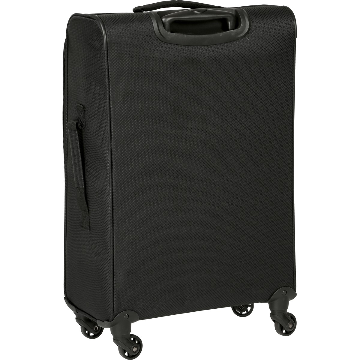 Big W Lights Swiss Super Light Luggage 66cm Black Big W