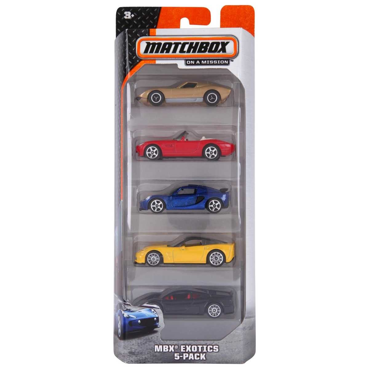 Big W Toy Cars Matchbox 5 Pack Car Set Assorted Big W