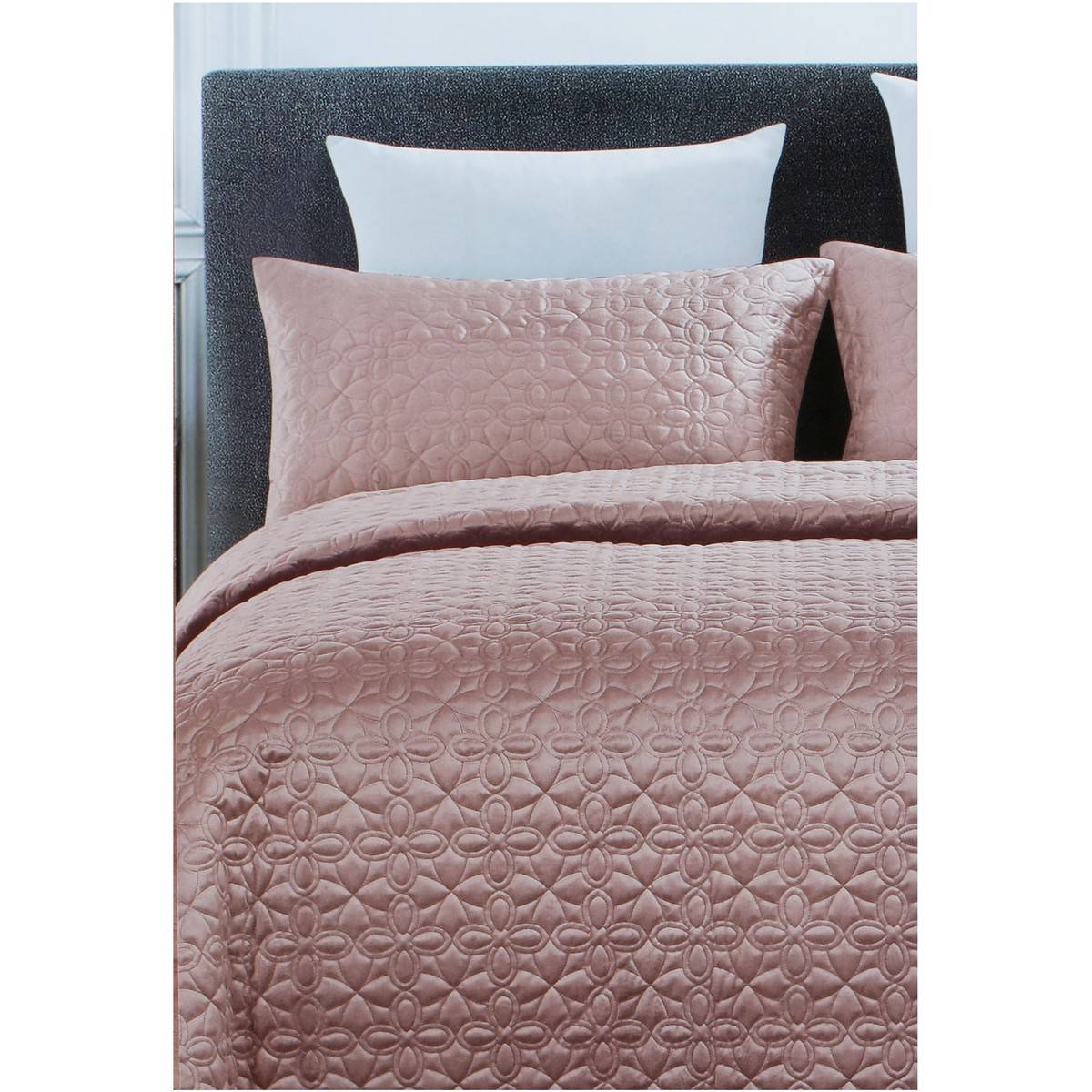 Big W Queen Quilt Covers House And Home Faux Velvet Coverlet Set Blush Queen Big W