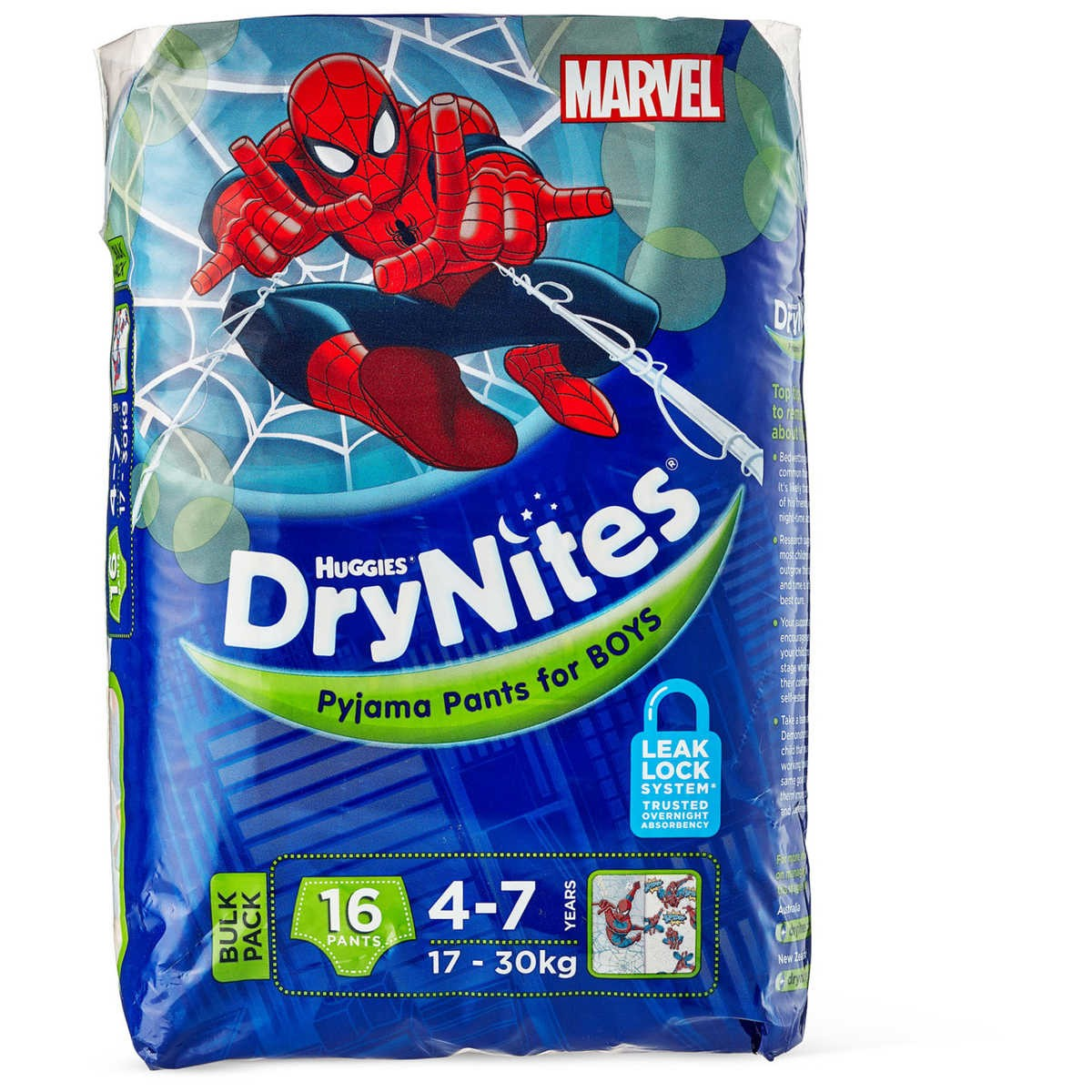 Huggies Drynites Bed Mats Huggies Drynites 16 Bulk Pack Big W