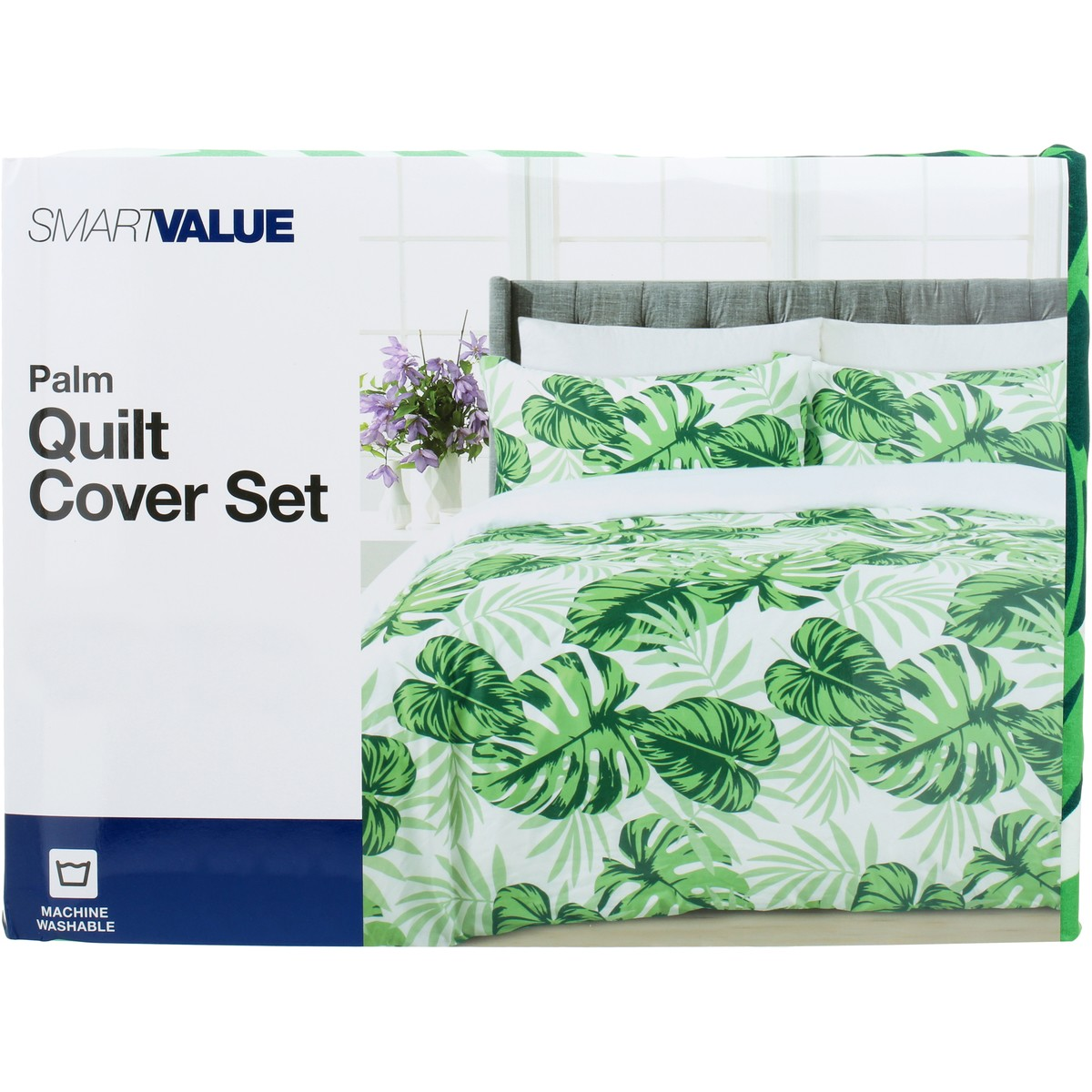 Big W Queen Quilt Covers Smart Value Quilt Cover Set Palm Big W