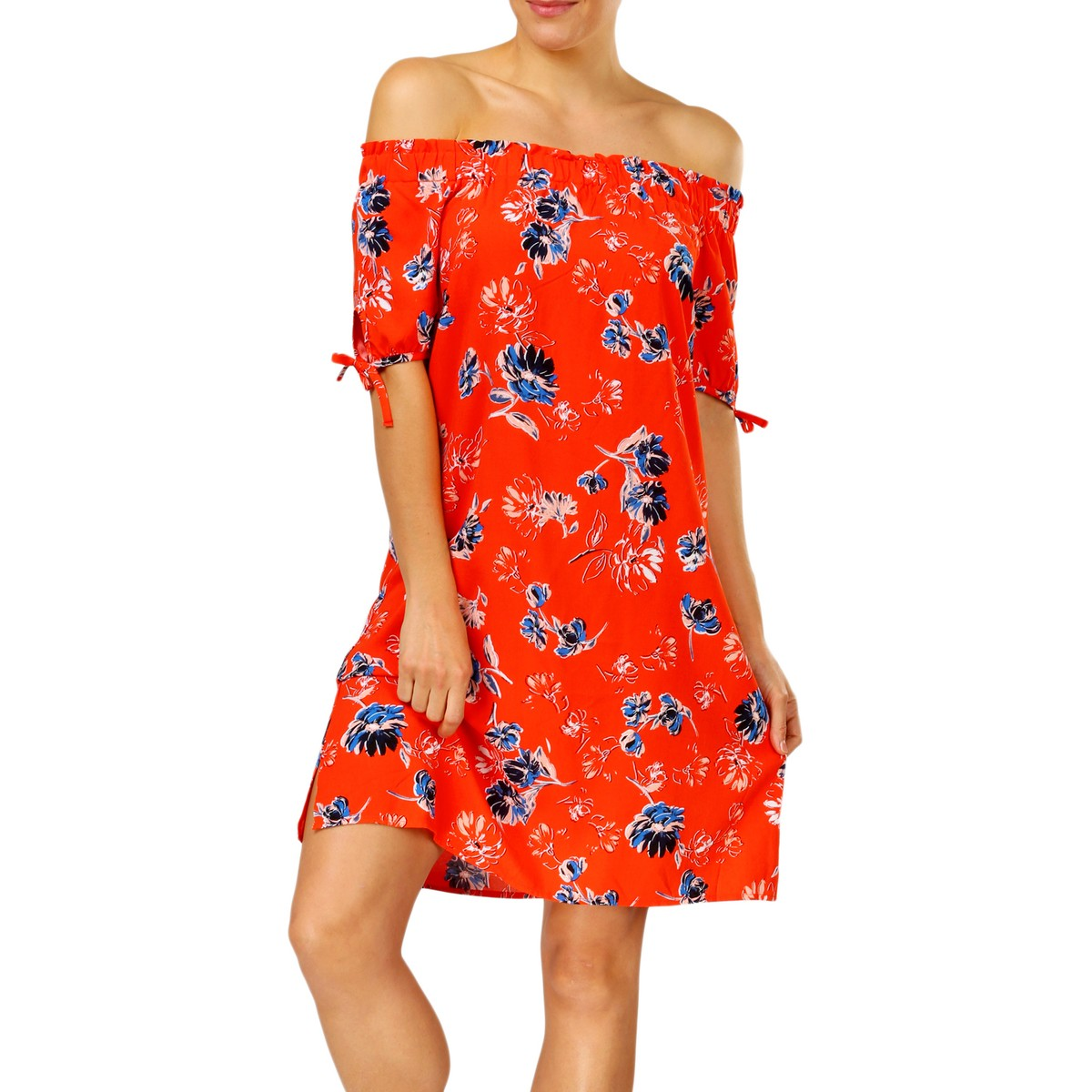 Big W Dress B Collection Women 39s Off The Shoulder Dress Red Big W