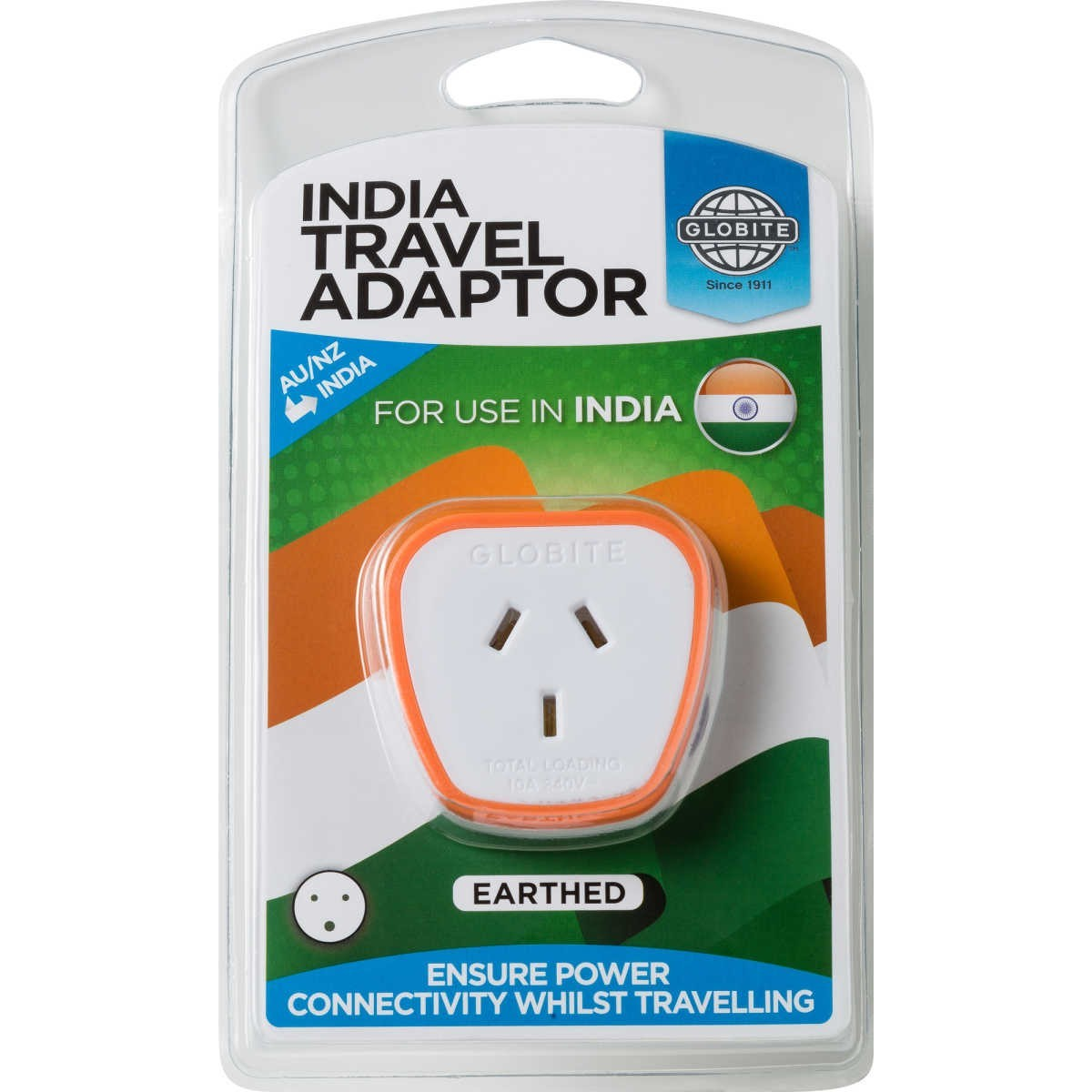 Coles Travel Adaptor Globite India Travel Adaptor