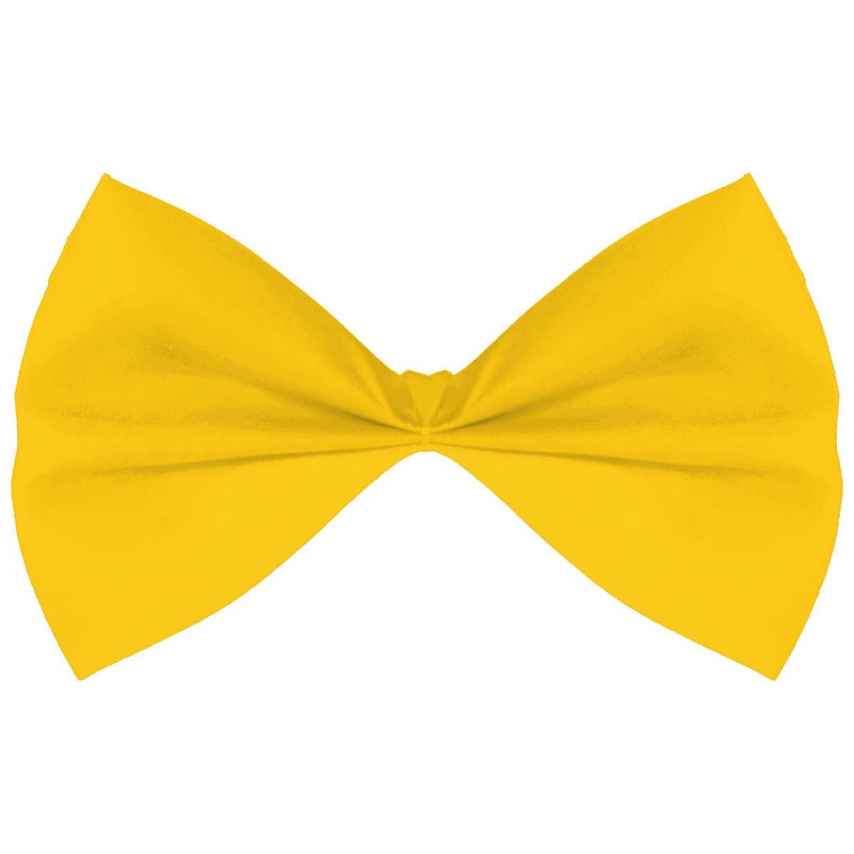 Big W Bow Tie Novelty Bow Tie Yellow Big W