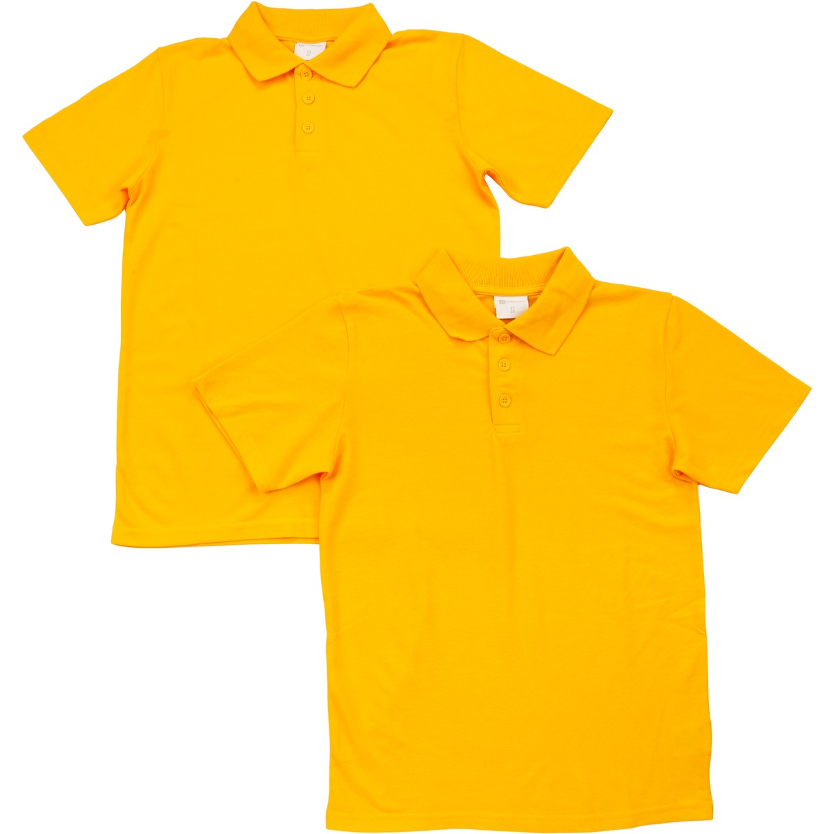 Big W School Shirts B Collection Kids School Polo Shirt 2 Pack Yellow Big W