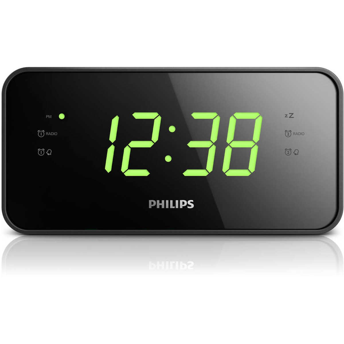 Digital Clock Philps Digital Led Alarm Clock Radio