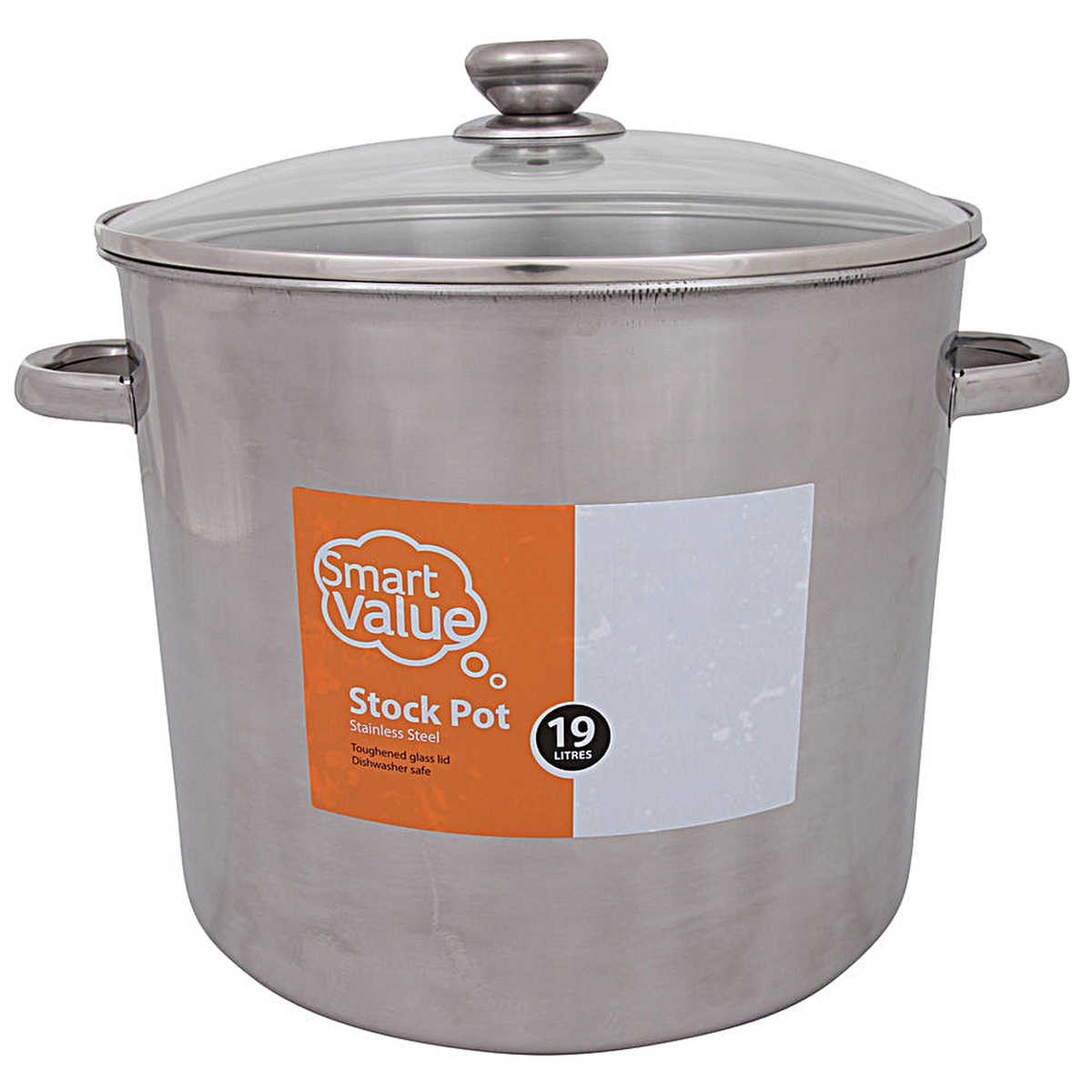 Big W Pressure Cooker Smart Value 19 Litre Stock Pot