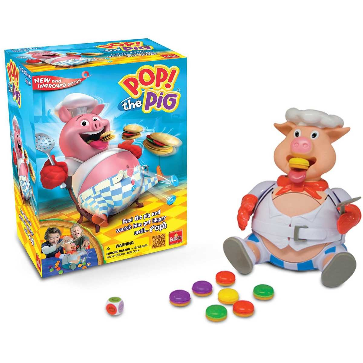 Pop The Pig Big W Goliath Pop The Pig Game Big W