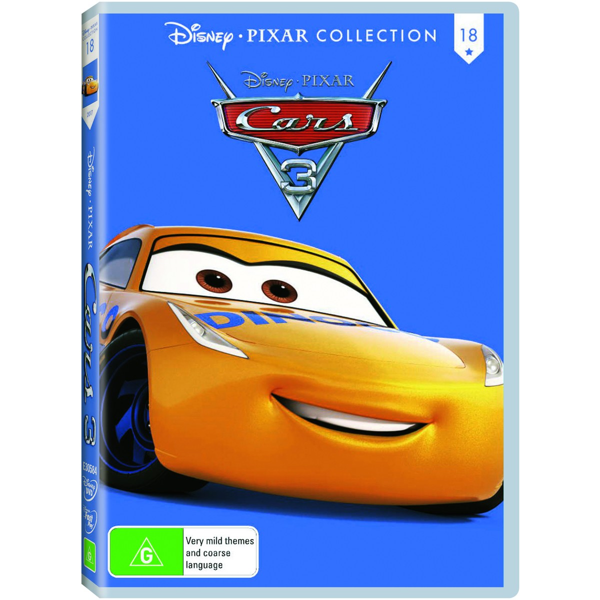 Big W Toy Cars Disney Pixar Cars 3 Dvd Big W