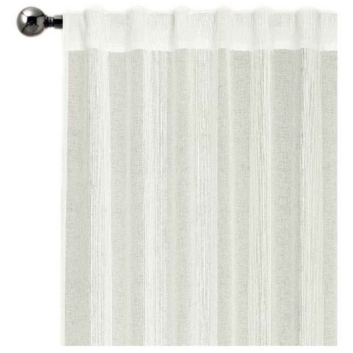 Tab Top Curtains Australia House And Home Bayside Concealed Tab Top Single Curtain Big W