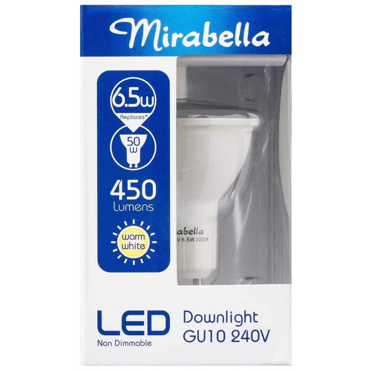 Led Downlights Au Mirabella Led Non Dimmable Gu10 Downlight Big W