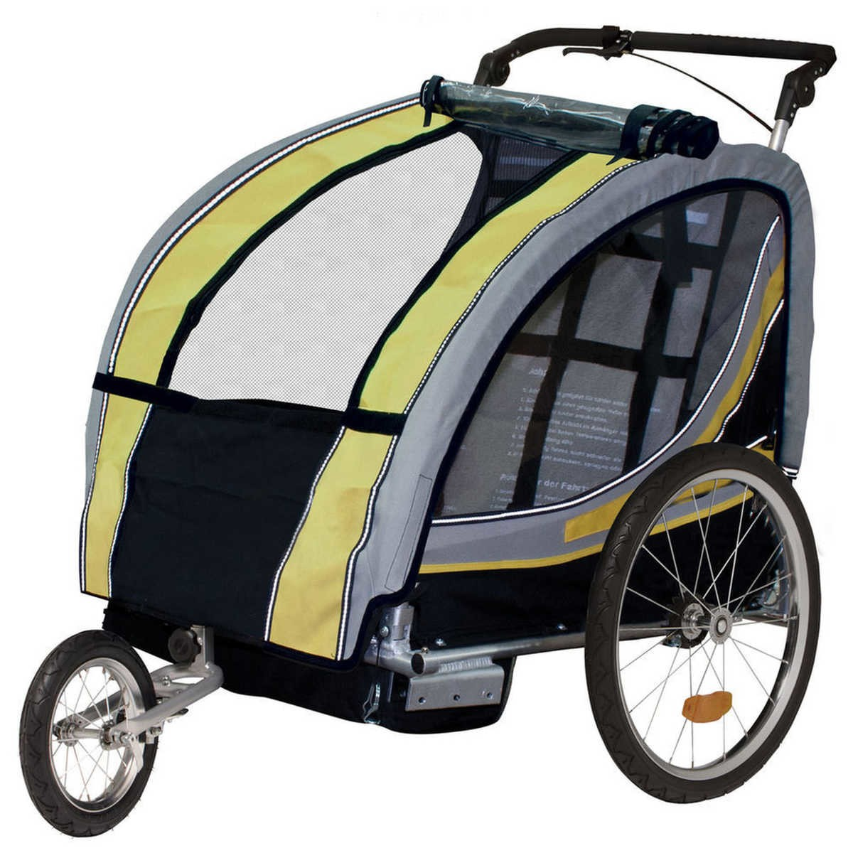 Big W Bike Light Diamondback Trail A Buggy 2 In 1 Bike Trailer Stroller