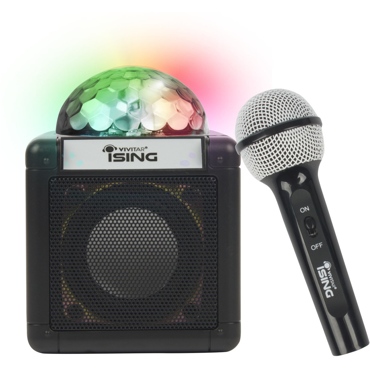Bluetooth Box Vivitar Ising Bluetooth Speaker With Microphone Black
