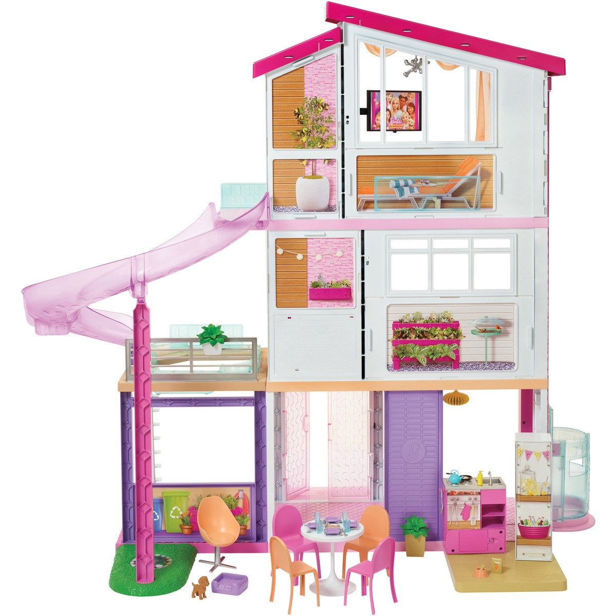 Barbie House Design Barbie Dreamhouse Big W