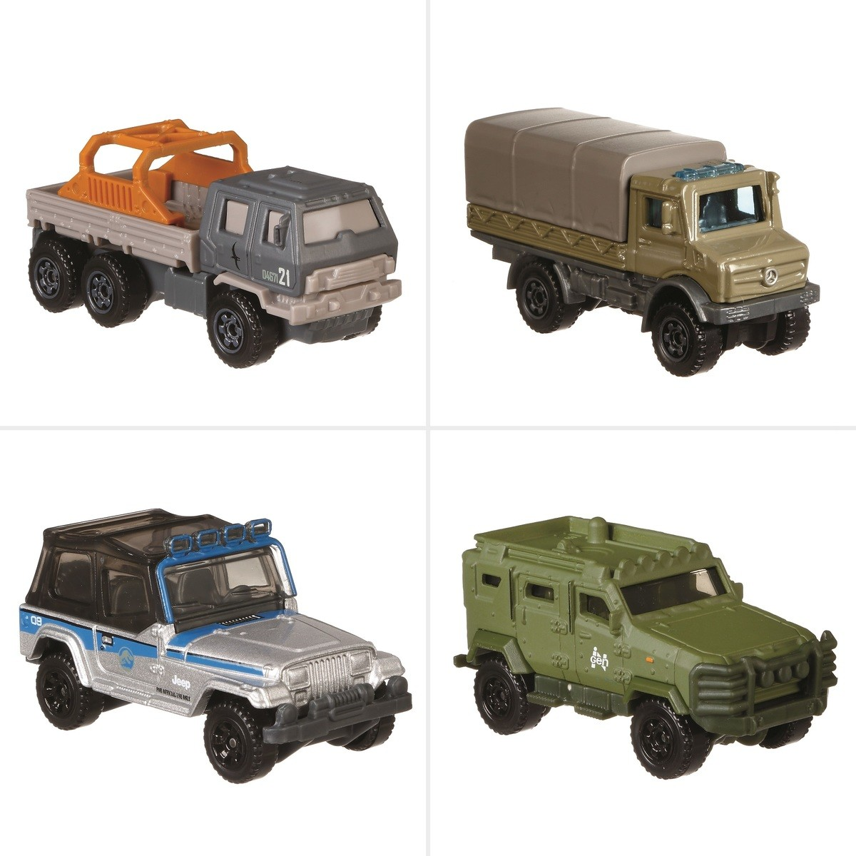 Big W Toy Cars Matchbox Jurassic World Die Cast Vehicle Assorted Big W