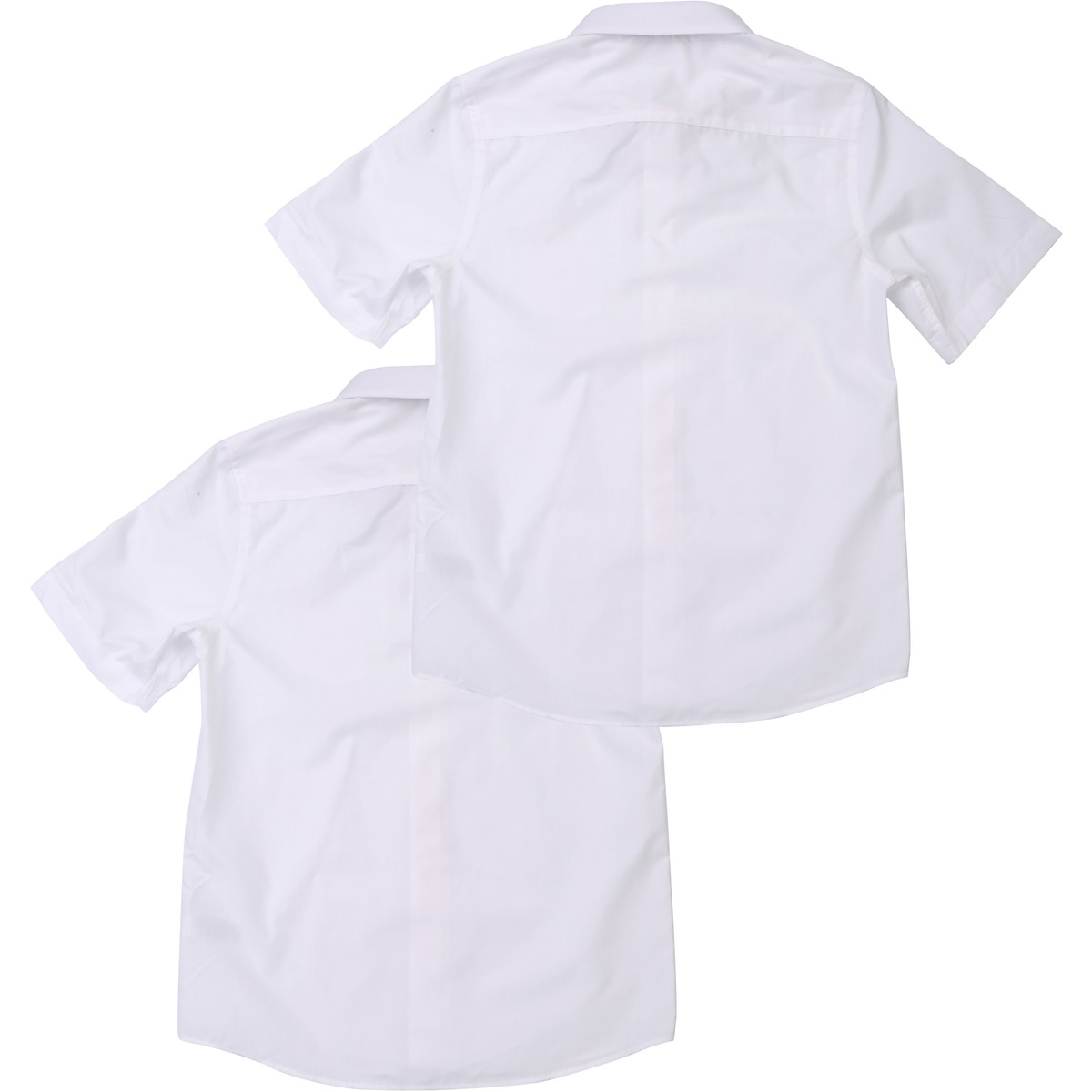 Big W School Shirts Brilliant Basics School Shirts 2 Pack White