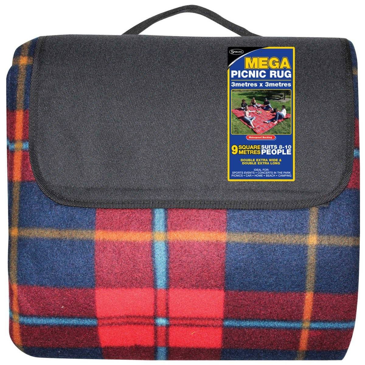 3m Products Australia Sperling Mega Picnic Rug 3m X 3m Big W