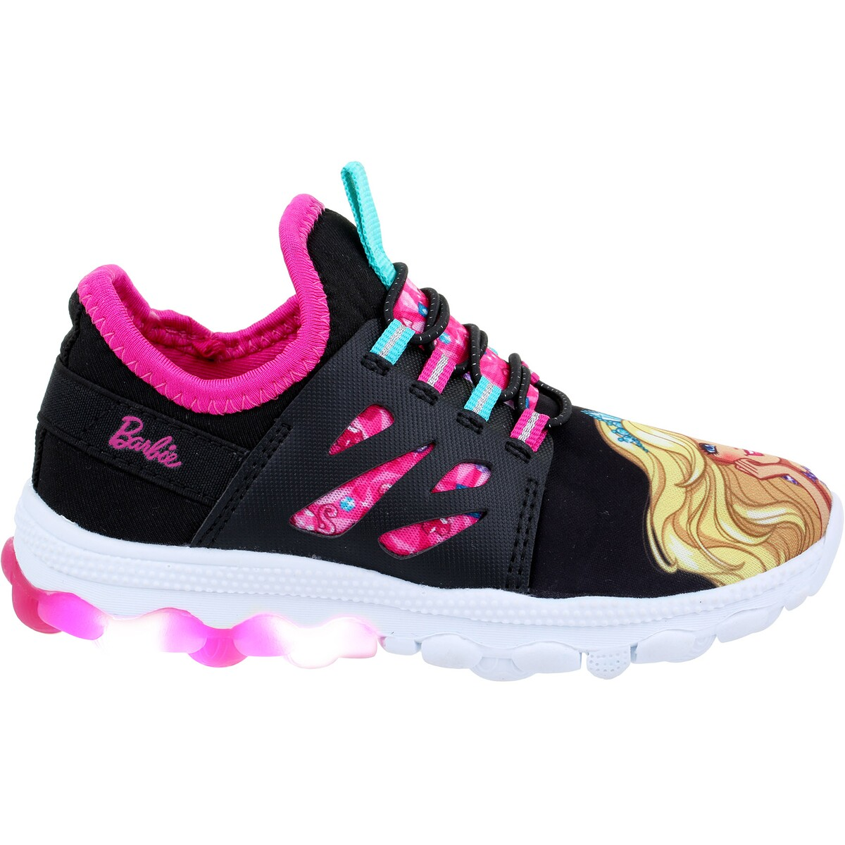 Infant Baby Products Online Shopping Barbie Infant Girls Light Up Shoes Black Big W