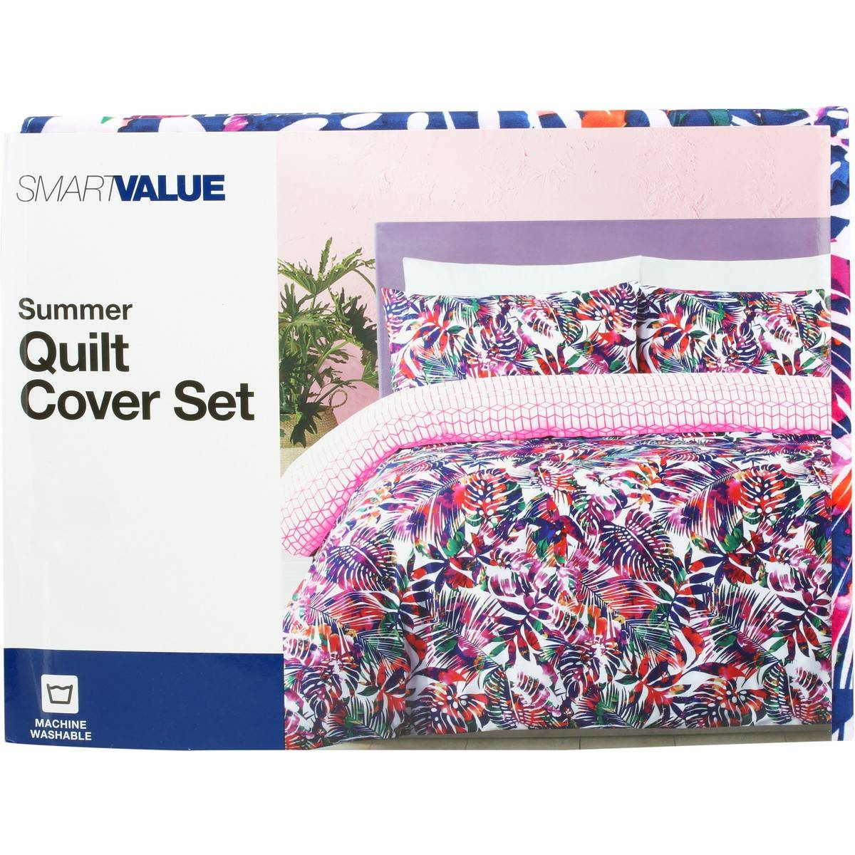 Big W Queen Quilt Covers Smart Value Summer Quilt Cover Set Big W