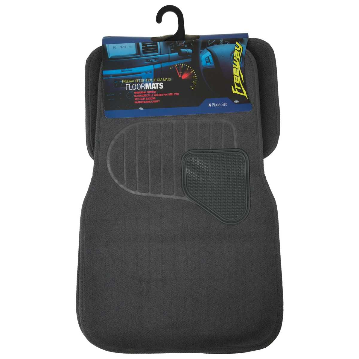 Big W Floor Mat Freeway 4 Set Value Car Mats