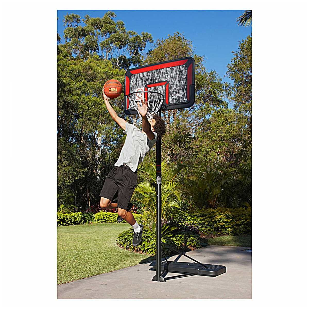 Basketball Hoop Perth Lifetime Complete Portable Basketball System Big W
