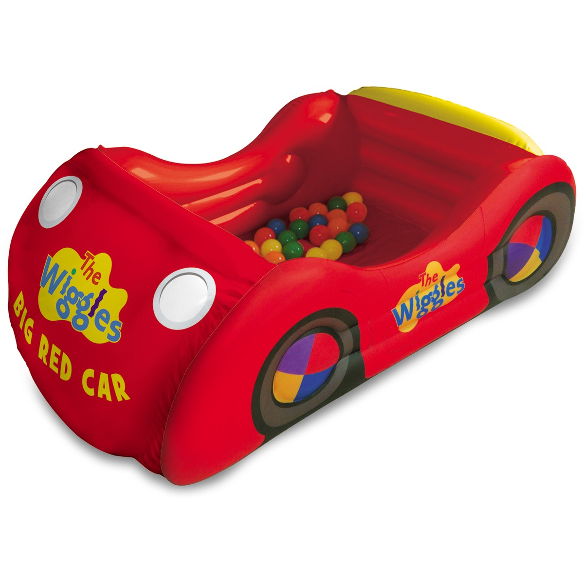 Big W Toy Cars The Wiggles Big Red Car Ball Pit Big W