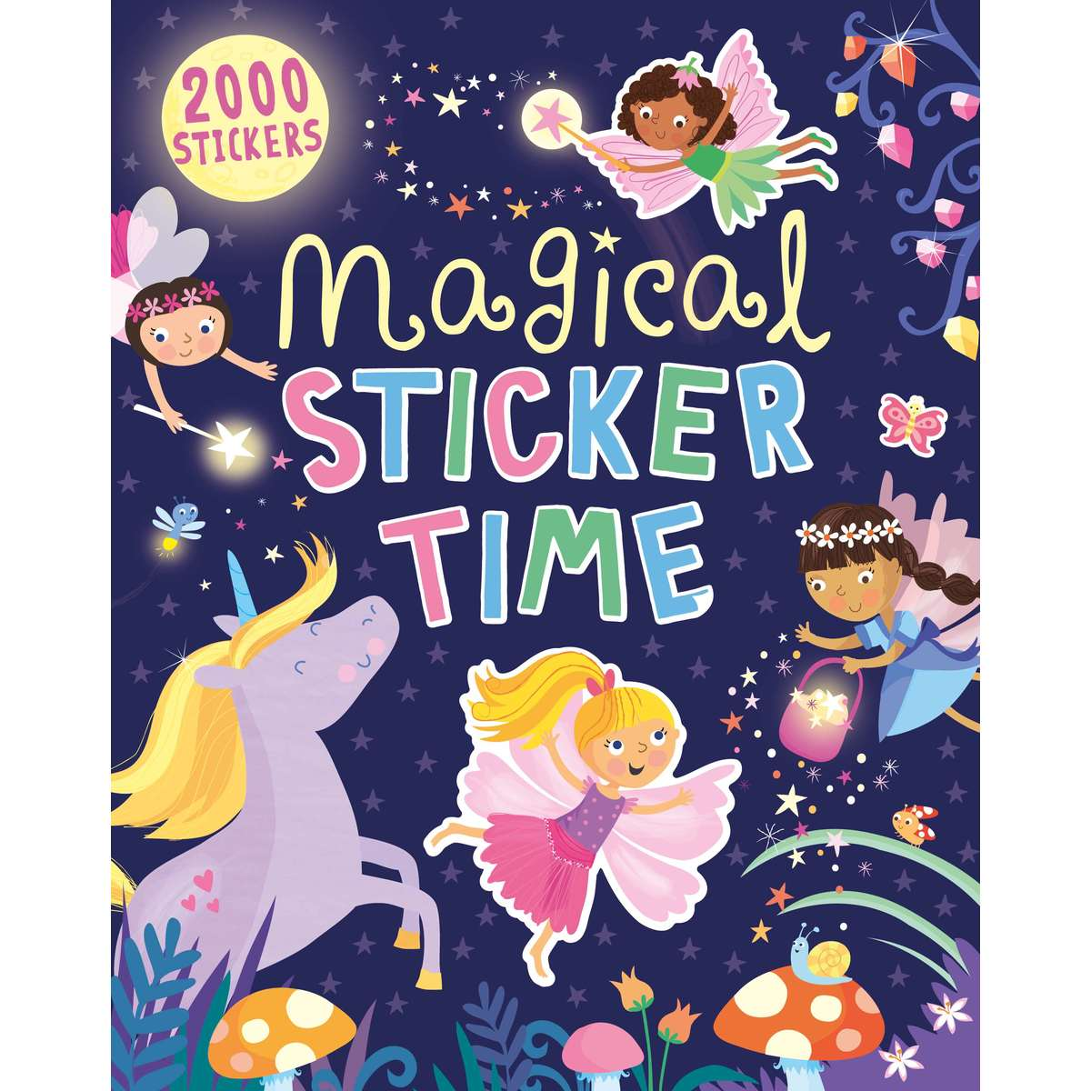 Big W Stickers Magical Sticker Time
