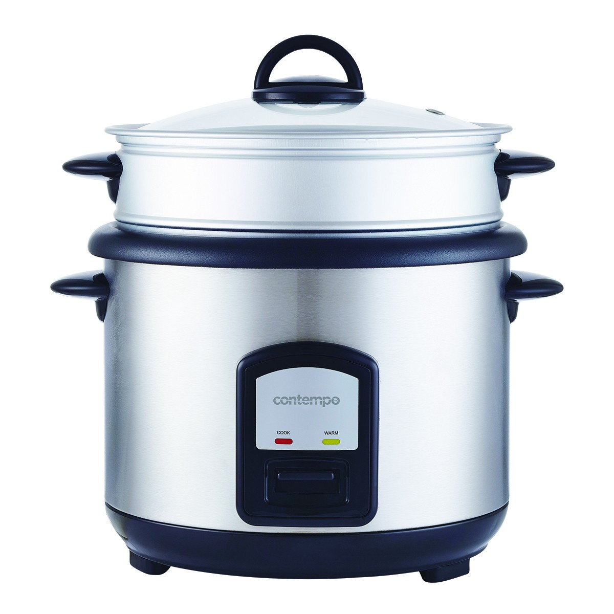 Big W Pressure Cooker Contempo 10 Cup Rice Cooker With Steamer